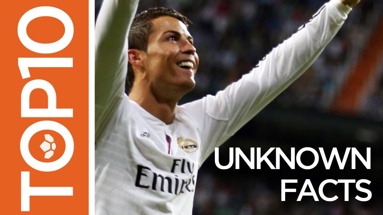 Cristiano Ronaldo Top 10 Unknown Facts Youtube