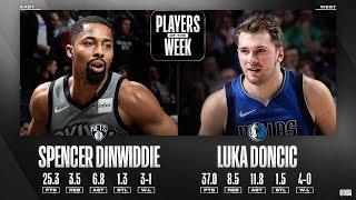 Luka Doncic is WEEK MVP of Western Conference! MVP chants, practice 3s ...