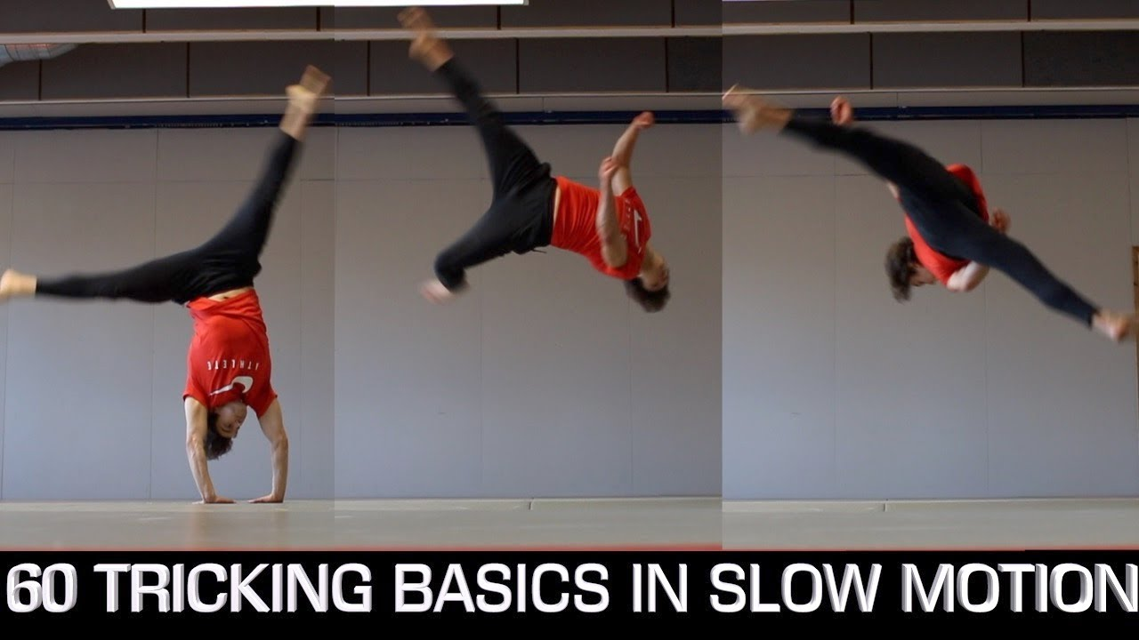 Download 60 Tricking Basics - Easiest to Hardest (Slow Motion)