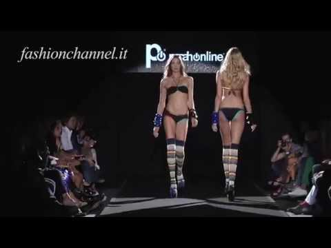 """Parah Online"" Fashion Show Spring Summer 2012 Beachwear Milano HD 2 of 2"