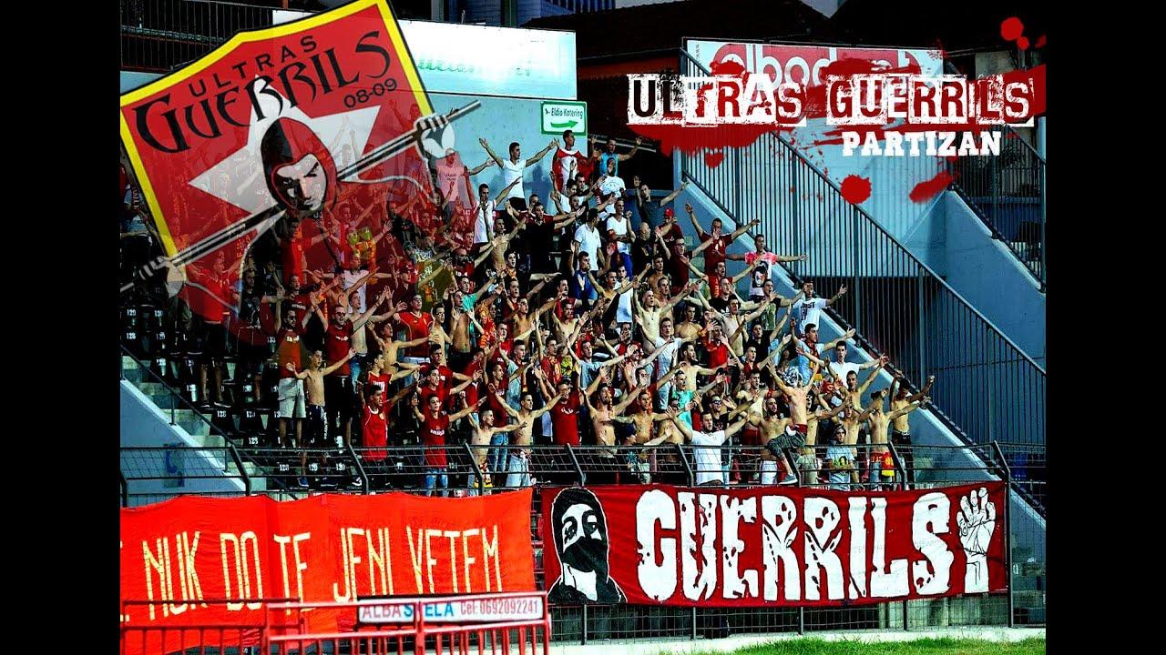 Ultras Guerrils Partizani Fc Krasnodar 25 08 2016 Youtube