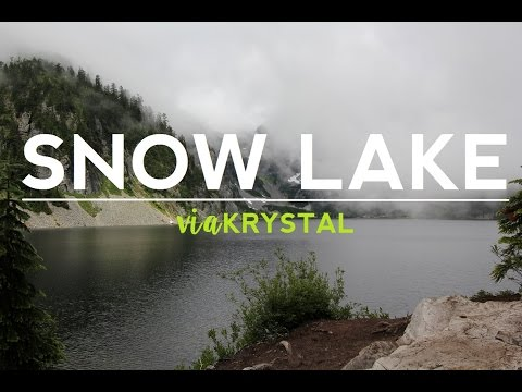 Hike at Snow Lake | travel vlog