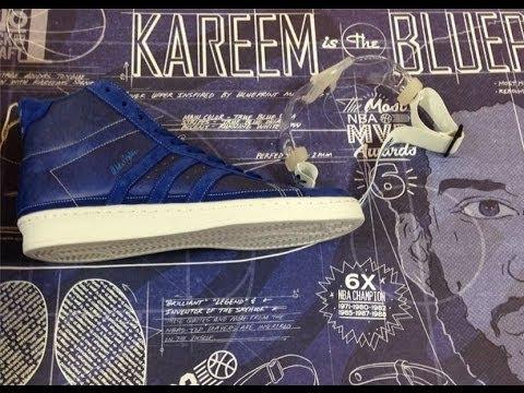 Kareem Abdul Jabbar Adidas Hi Blueprint Allstar Epic Sneaker Review On Feet With Dj Delz Djdelz