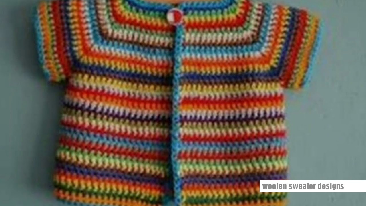 6675aef1d woolen sweater designs - multicolor sweater design for kids or baby ...