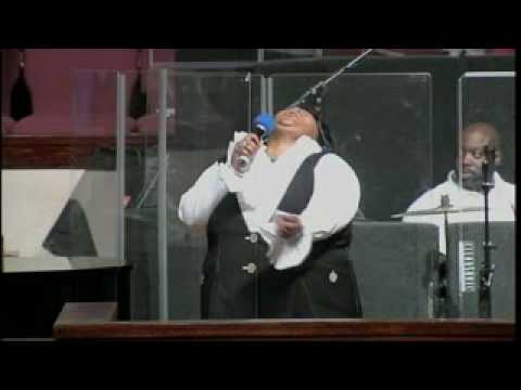 Kathy Taylor singing Corinthians Song at Ebenezer AME