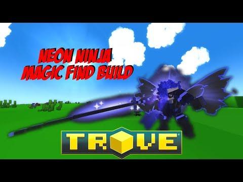 Let's Play Trove - Neon Ninja Class Magic Build (Updated NN)