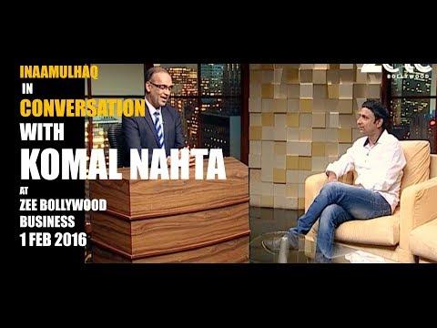 "INAAMULHAQ | In CONVERSATION | with ""KOMAL NAHTA"" |01-02-2016"