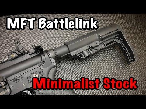 MFT Battlelink Minimalist Stock | Spikes Tactical Crusader Build