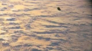 NASA STS-88 black transforming UFO