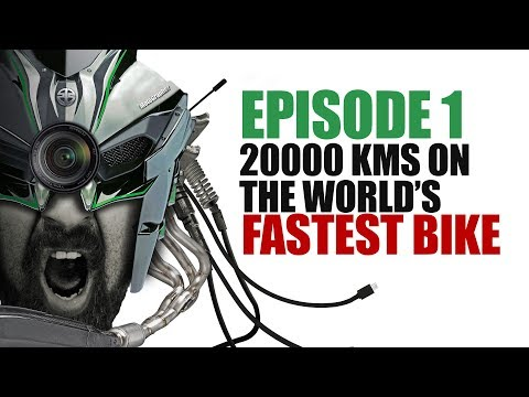 Ep1 :: 20000KMS On Two Of The World's Fastest Bikes ( Ninja H2 And Panigale 1299 )