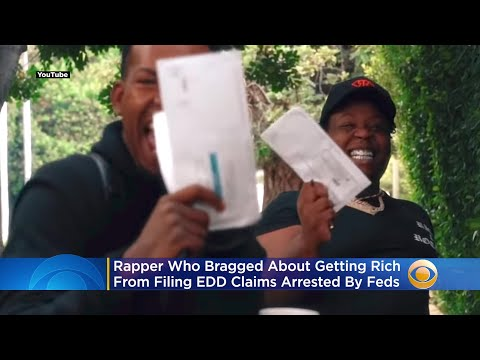 Feds-Arrest-Rapper-Who-Bragged-About-Getting-Rich-From-Filing-EDD-Claims-In-Music-Video