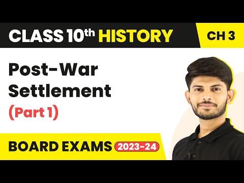 Post-war Settlement   Bretton Woods Institutions   Part 1   Class 10 History