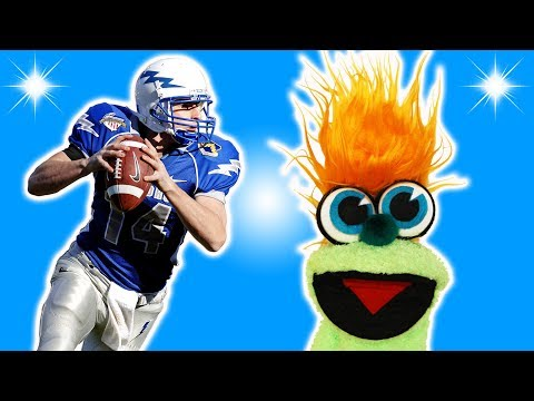 FUNNY FOOTBALL JOKE! - JOKES FOR KIDS! Sports! Ball 100% Child-Appropriate Jokes FUNNY! Sock Puppet!