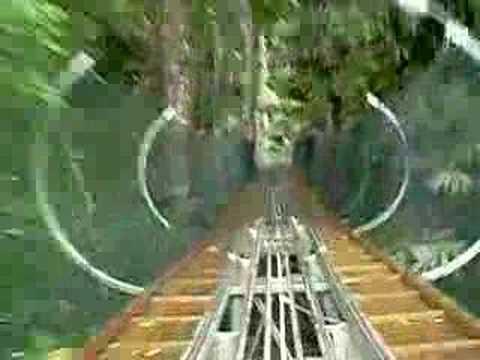 Tôi đi máng trượt tại thác Đatanla - Đà Lạt