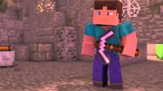 Minecraft мультик про город героев
