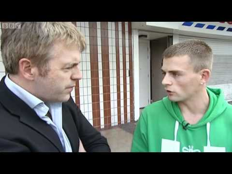 BBC Newsnight Report On Manchester & Salford Riots, 25th August 2011, Part 1