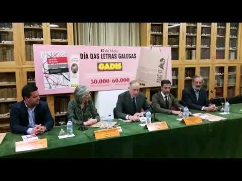 Gadis difunde o legado de Antón Fraguas en bolsas da compra e marcapáxinas