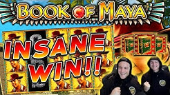 Book of Maya Big win - HUGE WIN with best symbol - free spins (Online Casino)