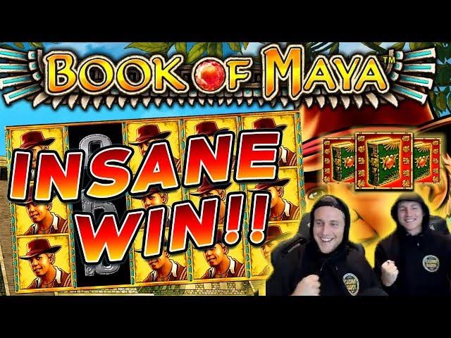 Book of Maya Big win - HUGE WIN with best symbol - free spins (Online Casino)