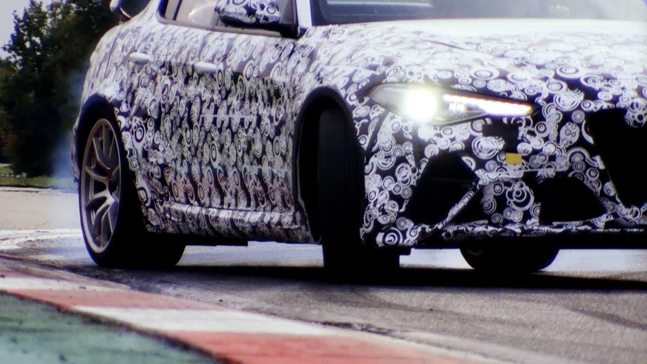 GIULIA GTA/GTAm | バロッコを駆け抜ける−ライコネンらF1ドライバーがテスト走行