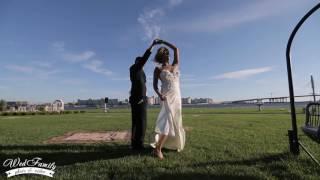 самый необычный свадебный танец фокус