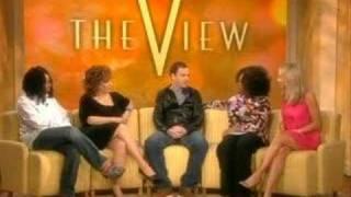 Jonny Lee Miller on The View 31st jan 2008