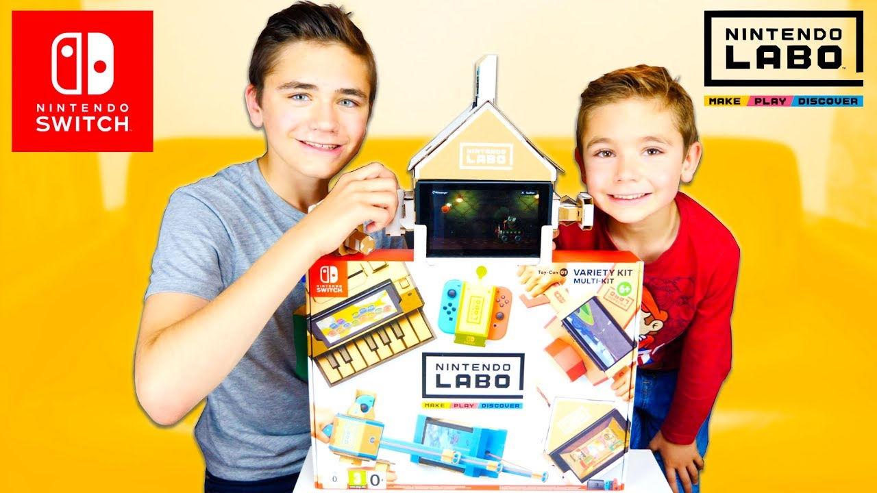 ON TESTE NINTENDO LABO ! - Multi Kit Nintendo Switch