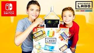 ON TESTE NINTENDO LABO ! - Multi Kit Nintendo Switch
