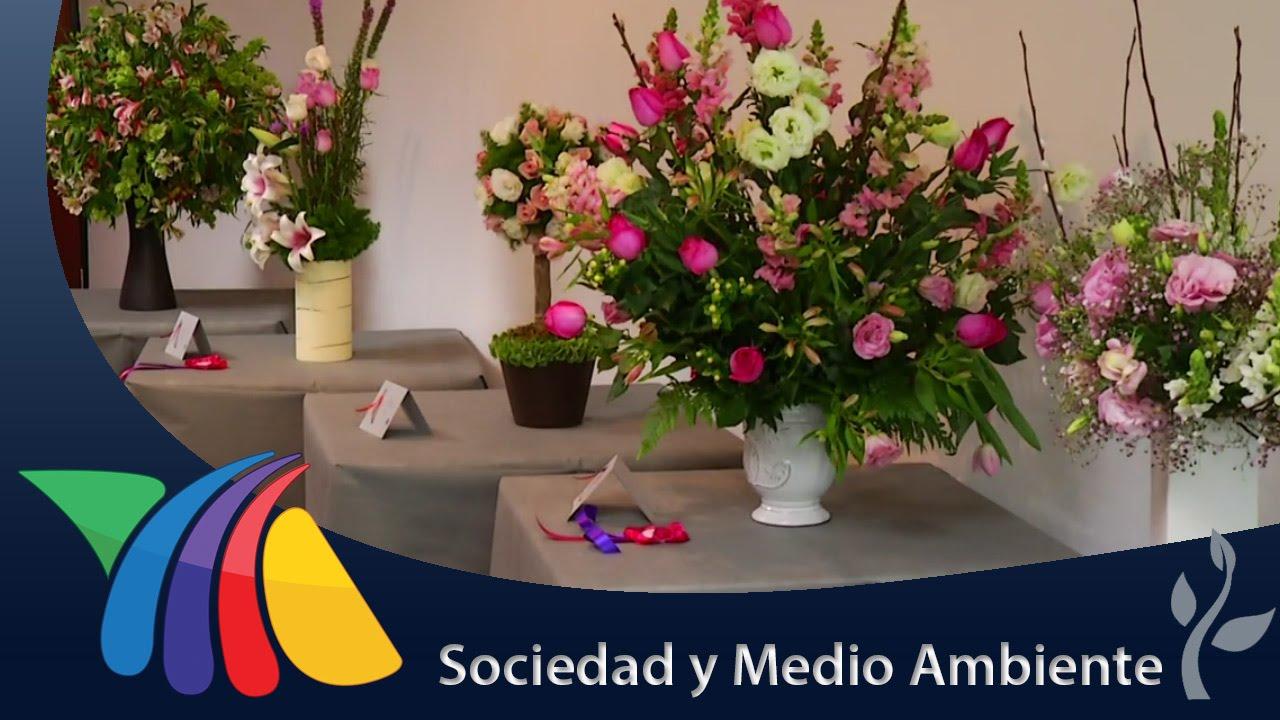 Exposición Floral En El Df Noticias