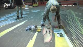 StreetArt - AVRO Kunst - 3D tekenen, doe het lekker zelf! (AVRO StreetArt maand)