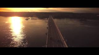 4K Aerial Bates Island Ottawa Ontario dji inspire 1