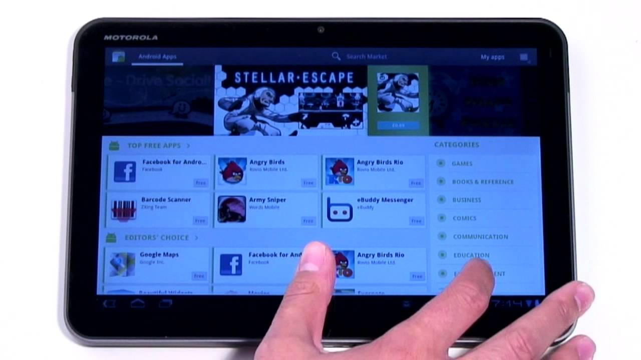 Motorola XOOM - Android App Hardware - Frackulous 225