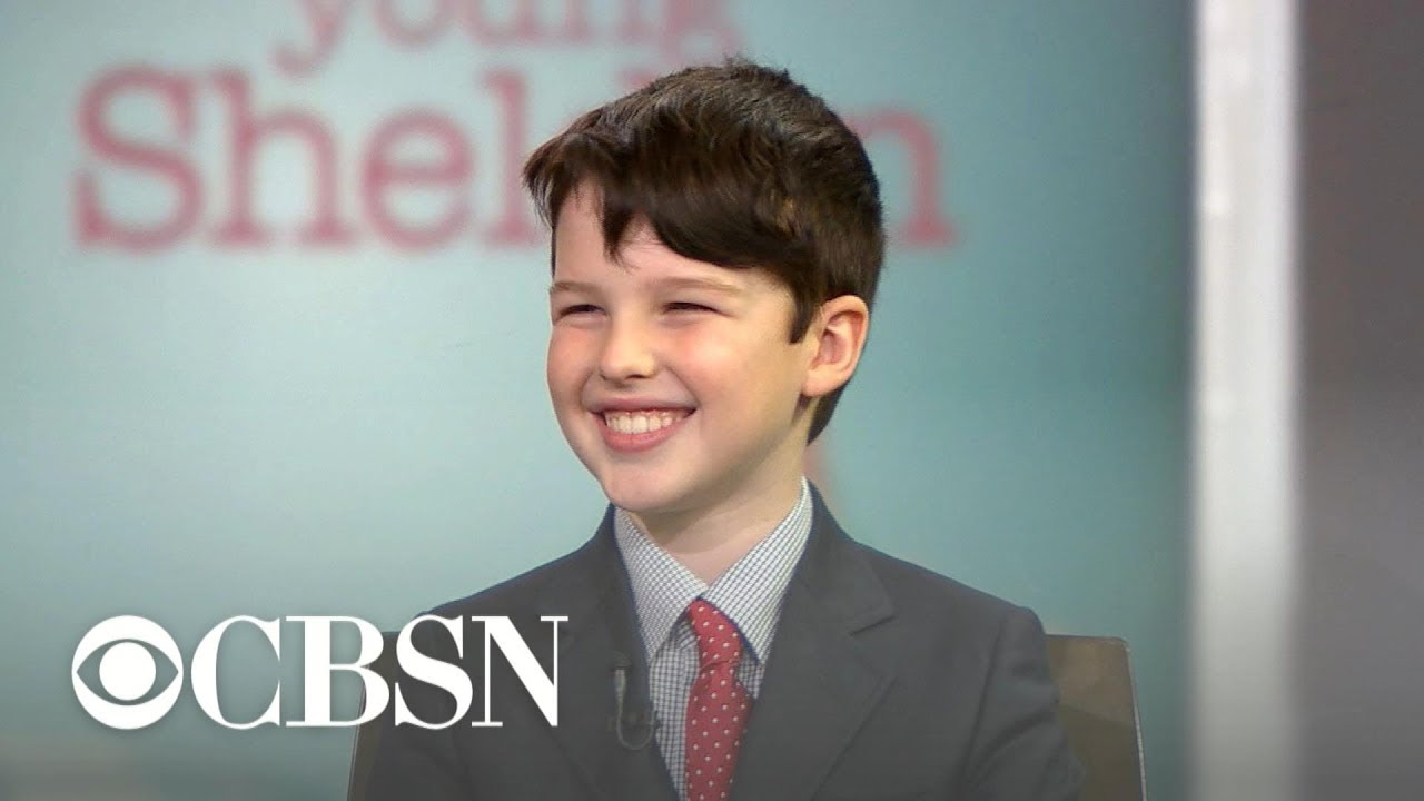 """Young Sheldon"" star Iain Armitage talks season 2"