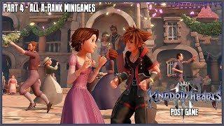Kingdom Hearts 3 Post-Game Part 4: All A-Rank Mini Games