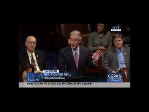 Ranking Member Neal Speaks During Debate on Conference Report