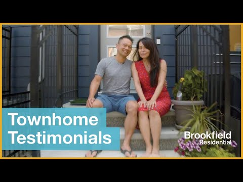Brookfield Residential Calgary Townhome Testimonials | Real Estate Testimonial Videos