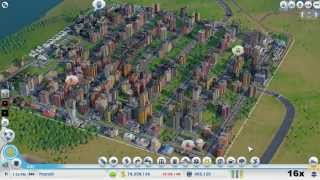 simcity timelapse from 0 to 500 000 population