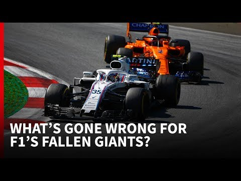 McLaren + Williams: What's gone wrong for F1's fallen giants