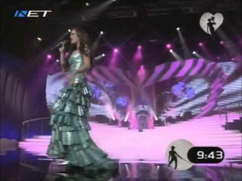 Rebeka Dremelj - Vrag Naj Vzame (Greek National Final 2008)