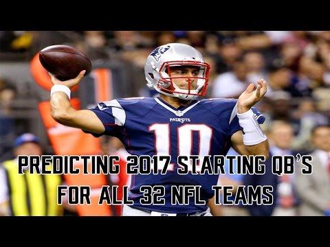 Predicting 2017 Starting QB
