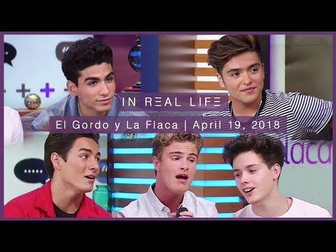 In Real Life | El Gordo y La Flaca Full Interview (04.19.18)