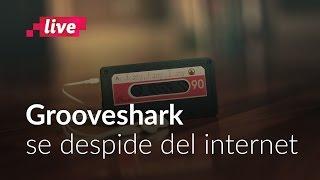 Grooveshark se despide del Internet