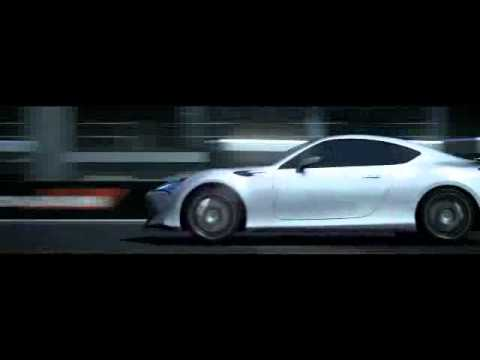Toyota FT-86 II Concept action in Gran Turismo 5 trailer