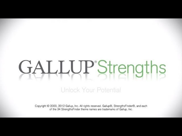 Discover Your Strengths - Unlock Your Potential with Gallup's CliftonStrengths