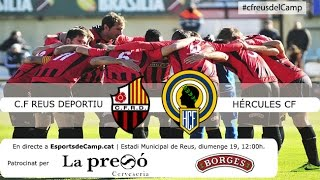 Reus Deportiu vs Hercules full match