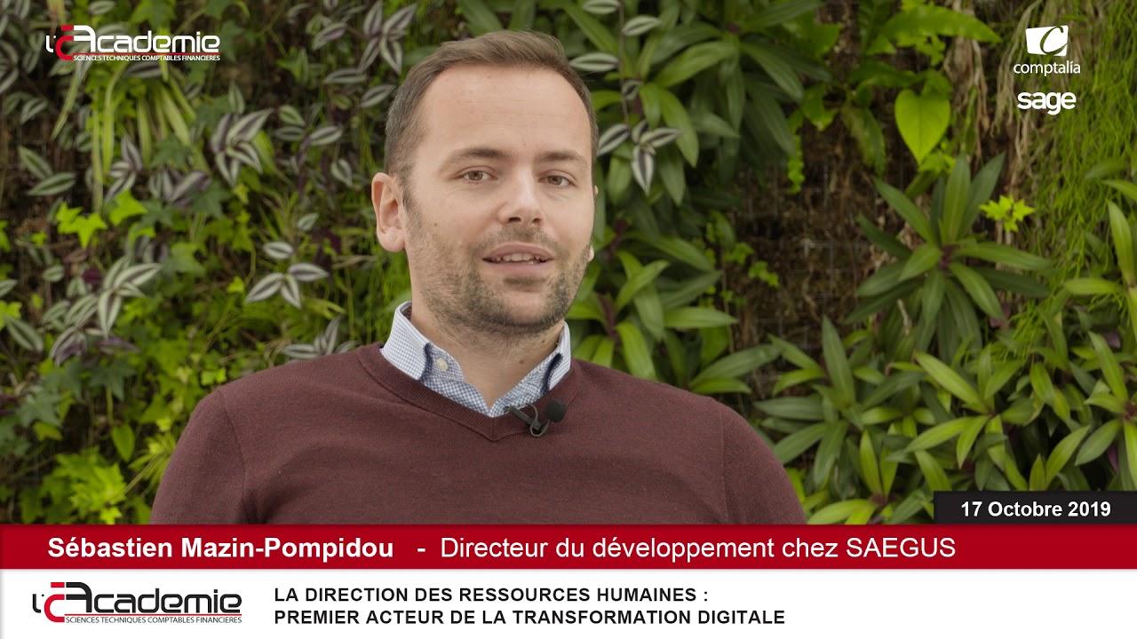Les Entretiens de l'Académie : Sébastien Mazin-Pompidou