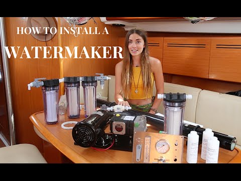 How To Install a Watermaker (Sailing La Vagabonde)