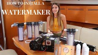 How To Install a Watermaker (Sailing La Vagabonde) thumbnail