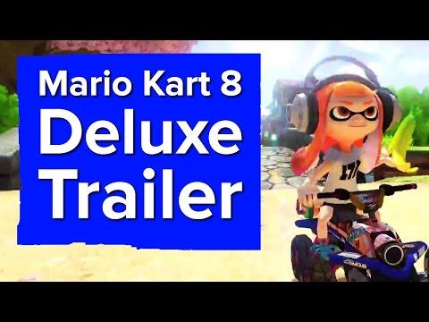 Mario Kart 8 Deluxe Trailer - Nintendo Switch