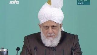 2016-01-15 Khalifat-ul-Masih II. (ra): Die Perlen der Weisheit